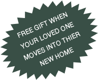 free gift when your loved one moves into thier new home